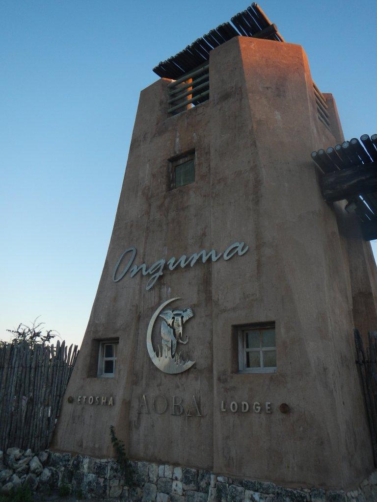 Game farm entrance