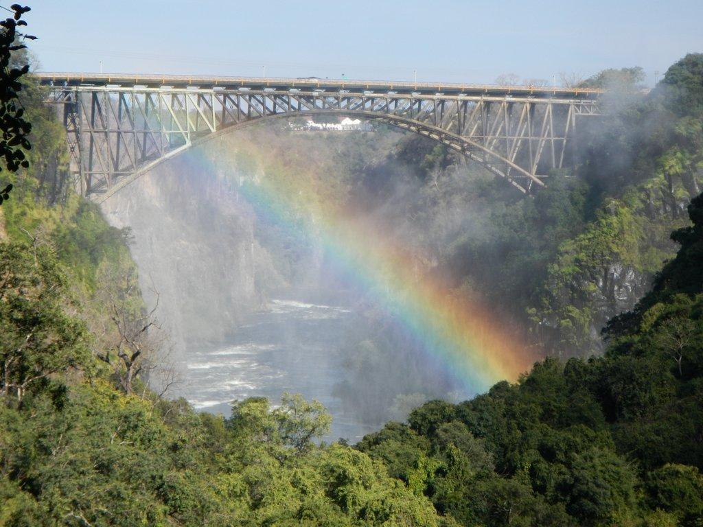 View across to Zimbabwe.