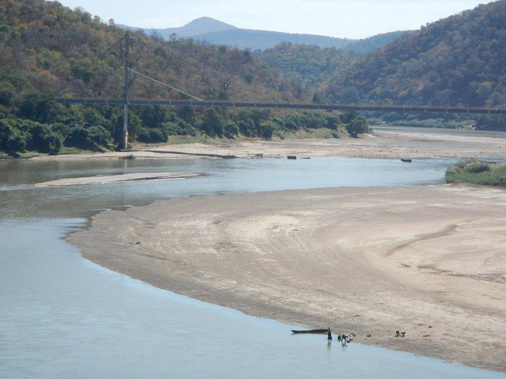 Crossing the Luangwa