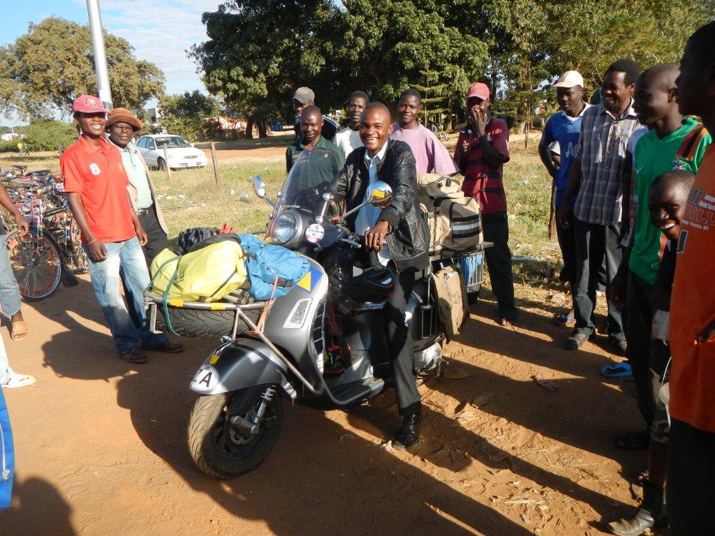 Flash mob Zambian style