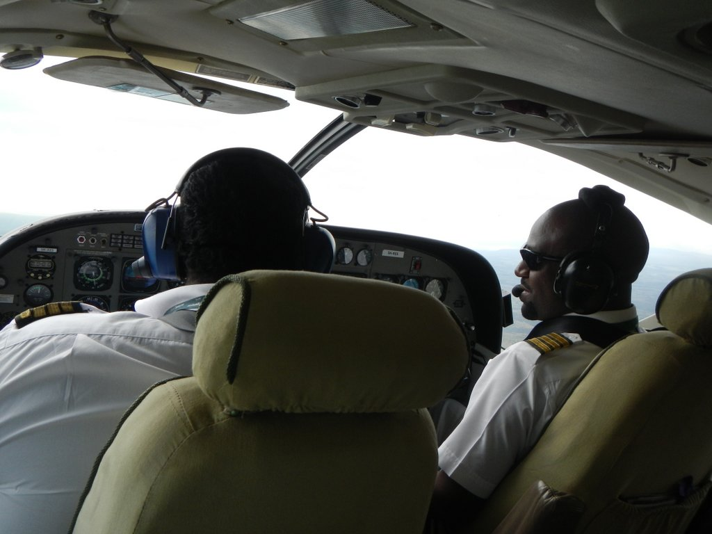 Two pilots one prop