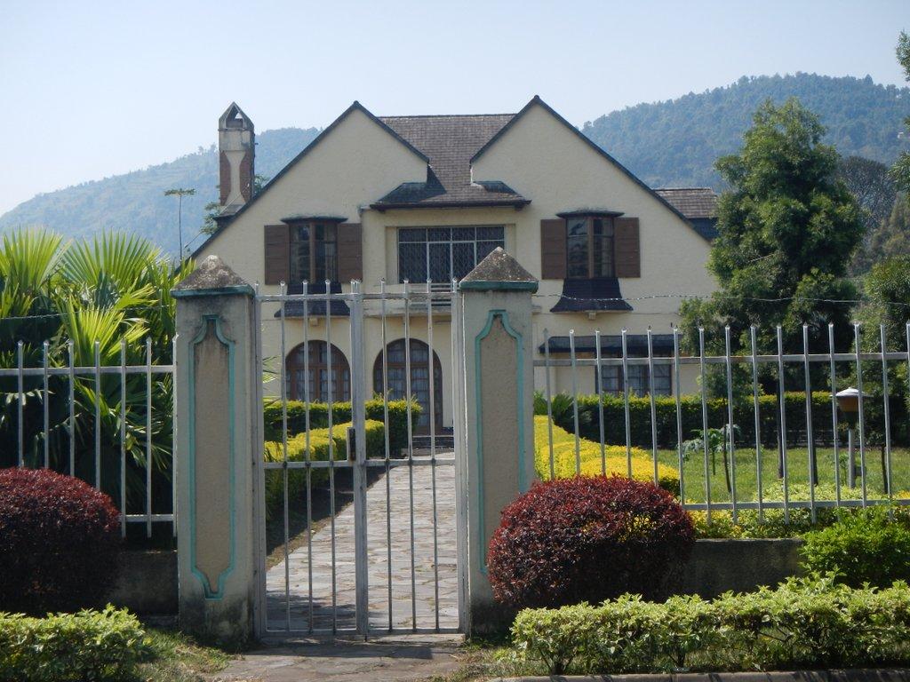 A holiday home on Lake Kivu