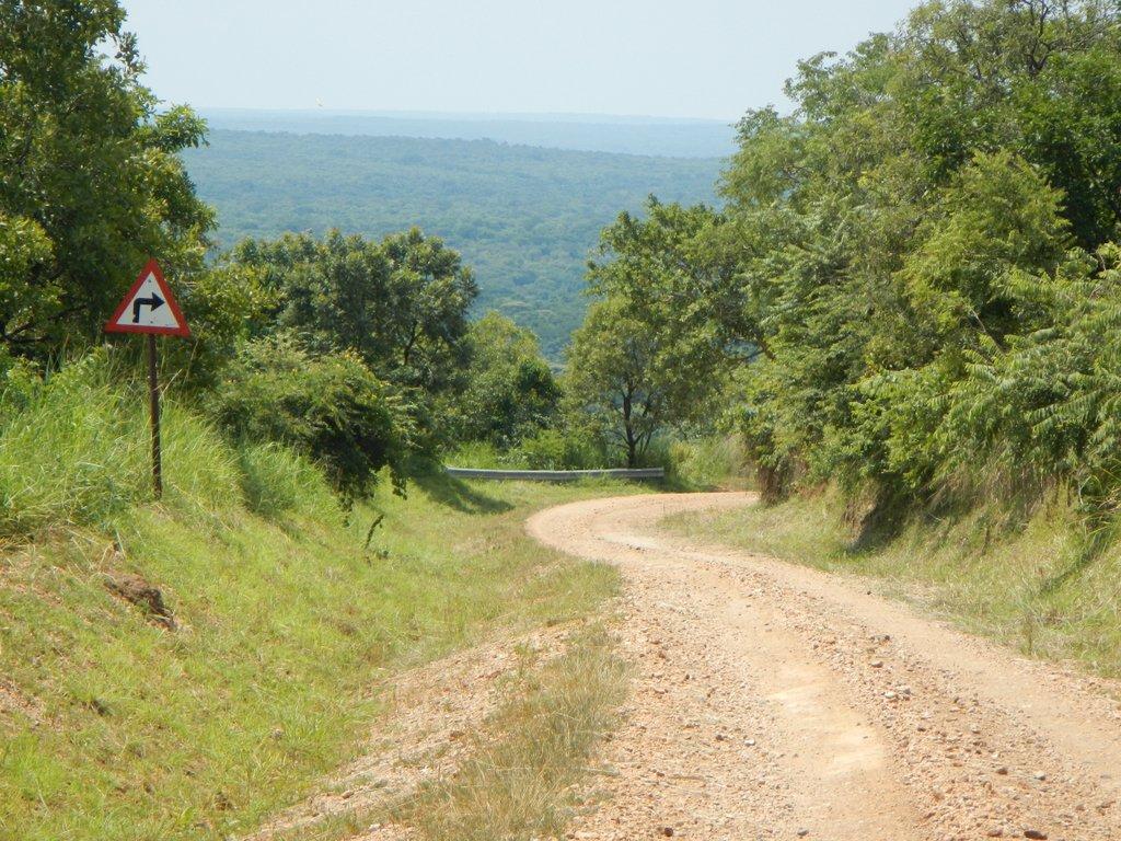 90 km of wild Uganda