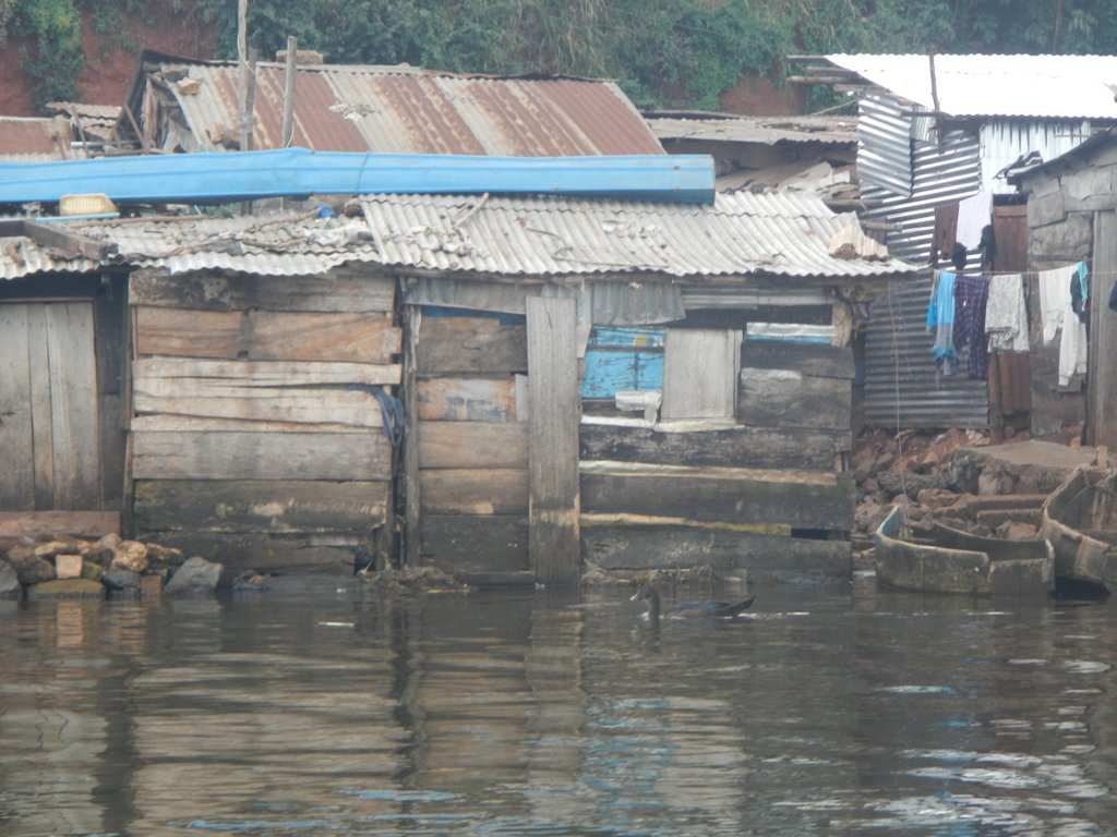 The fishing village gives a new meaning to having your work at your doorstep.