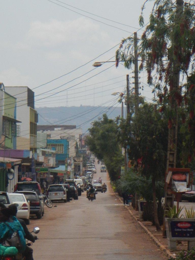 Street in Jinja