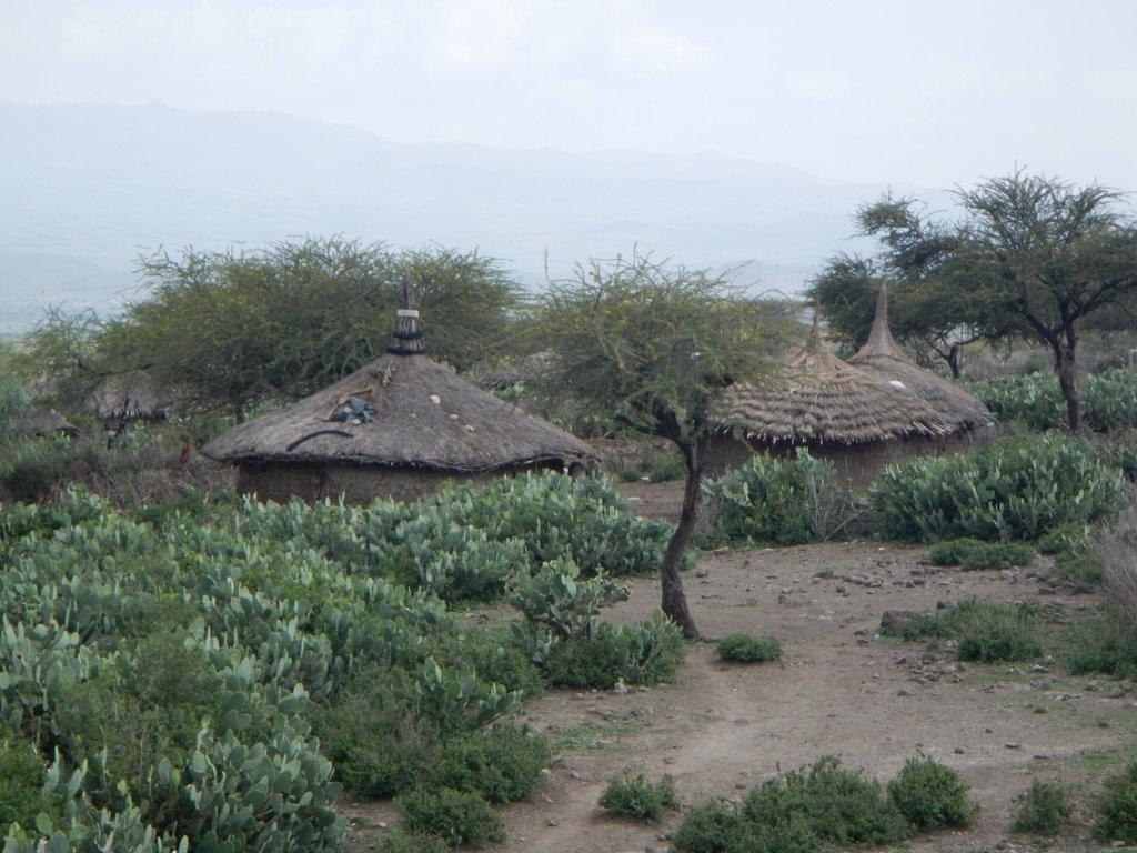 Rural villages run alongside Vic and I