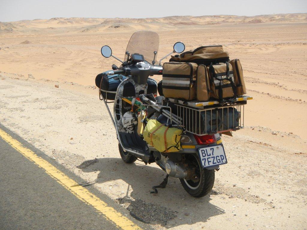 Victoria in the Sahara.