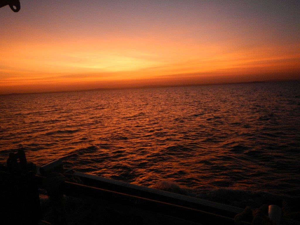 Sunrise like no other .