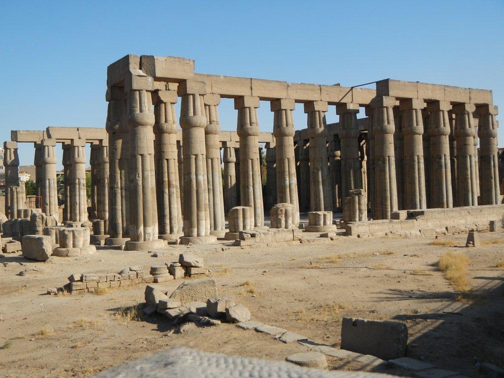 Luxor Temple .