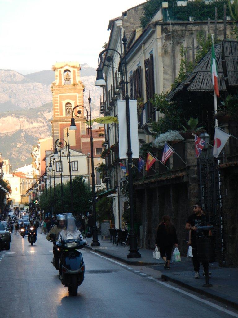 Streets of Sorrento.