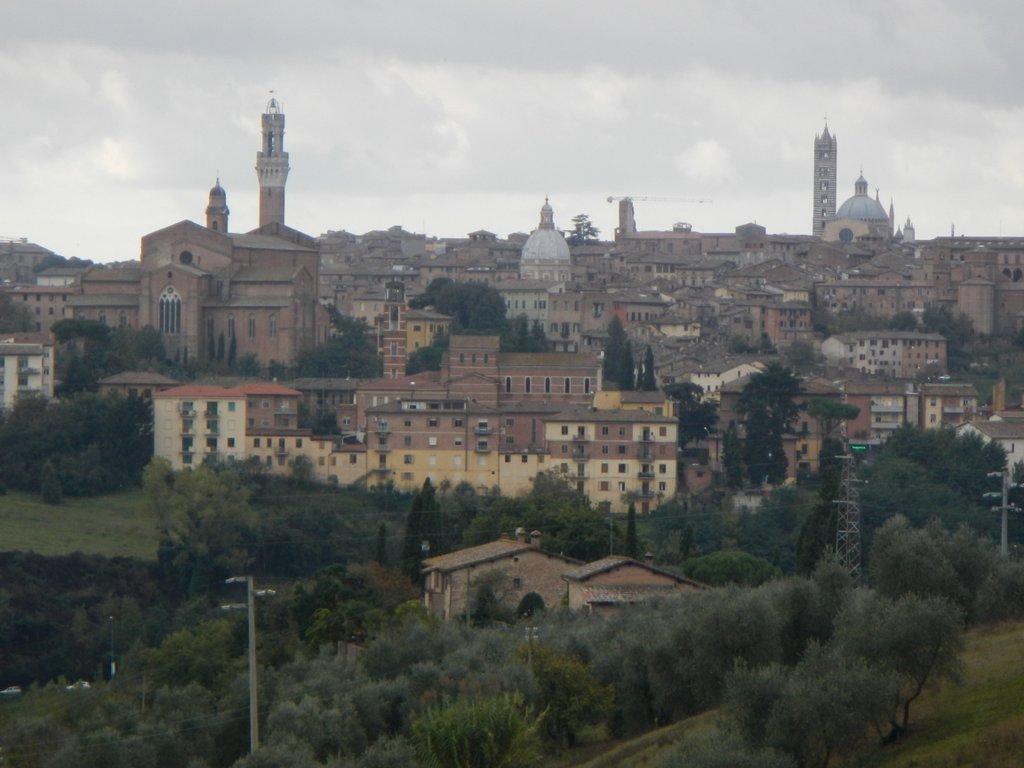 Siena line in the sky.
