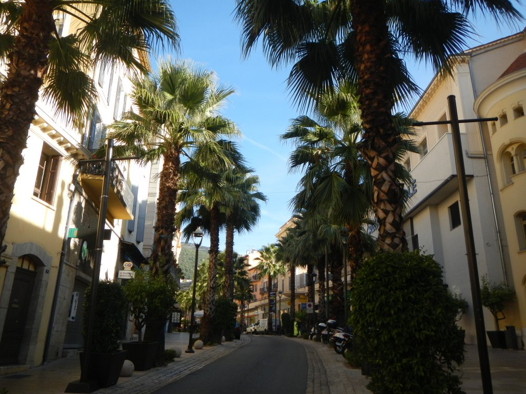 Grasse and scented streets.