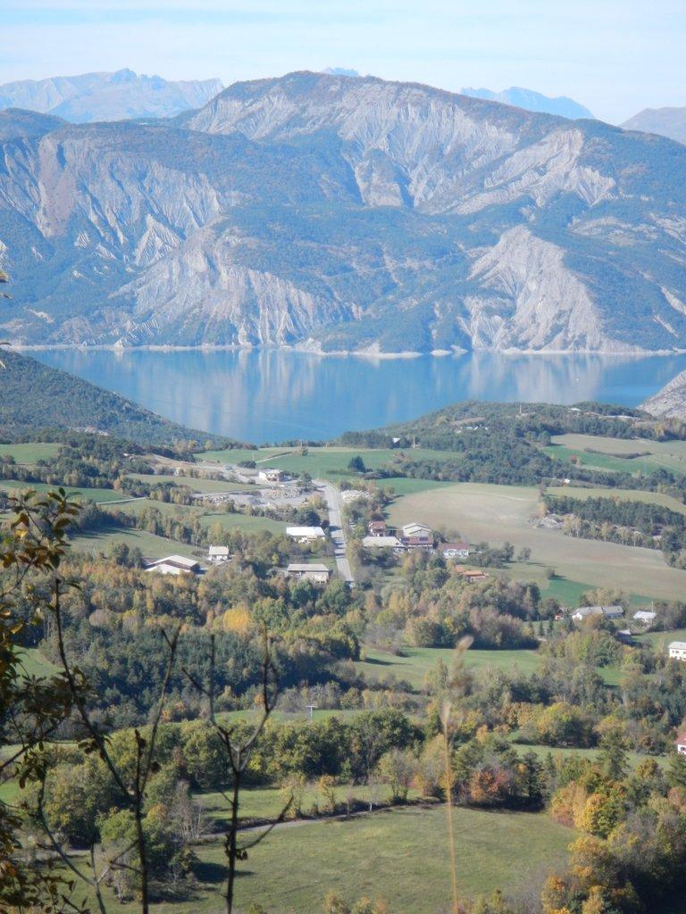 land and lake .