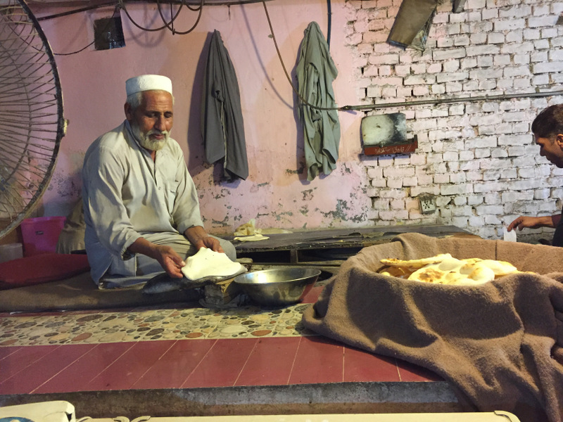 The master of Naan